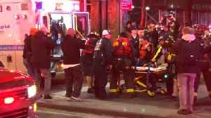 News video: Helicopter Crashes In New York City's East River