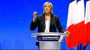 News video: France: Le Pen seeks to rebrand and revive National Front's image
