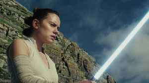 News video: Daisy Ridley Talks About Rey's Family Fixation