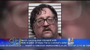 News video: North Carolina Man Charged With 1986 Murder Of State Police Colonel's Sister