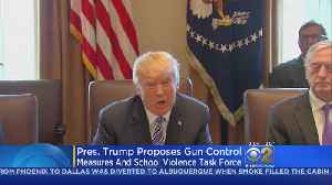 News video: White House Backs Off Support For Raising Age To Buy Guns, Vows To Help Arm Teachers