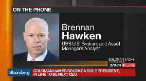 News video: Hawken Says the Bench is Deep at Goldman Sachs