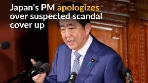 News video: Japan's Abe under fire as cronyism scandal heats up