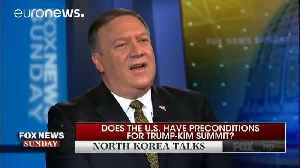 News video: No more conditions imposed on North Korea for the moment