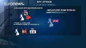 News video: Russian spy attack: British PM May to address parliament