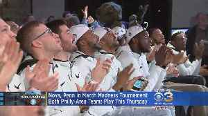 News video: Nova, Penn In March Madness Tournament