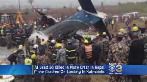 News video: At Least 50 Killed In Plane Crash In Nepal