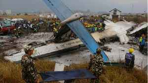 News video: Bangladeshi Plane Crashes In Nepal, Killing At Least 49