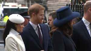News video: Right Now: Royal Family Attends Service at Westminster Abbey for Commonwealth Day