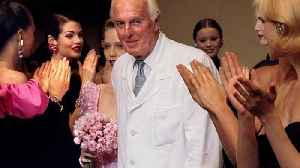 News video: French fashion icon Givenchy has died aged 91, partner confirms