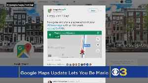 News video: Here's How To Add Mario Kart To Your Google Maps This Week