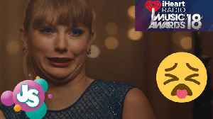 News video: Taylor Swift Premiered 'Delicate' During iHeart Radio's Music Awards and All We Can Say is…EW! | JS