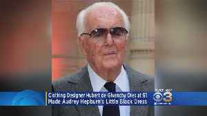 News video: Clothing Designer Hubert De Givenchy Dies At 91