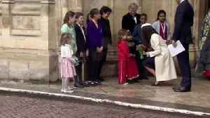 News video: Meghan joins the Queen for Commonwealth day