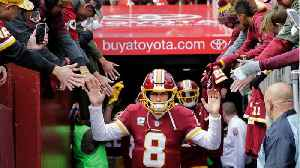 News video: Kirk Cousins Is Headed for Free Agency