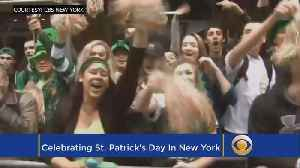 News video: Best Ways To Celebrate St. Patrick's Day In NY