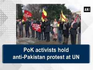 News video: PoK activists hold anti-Pakistan protest at UN