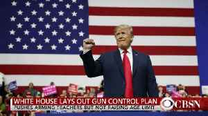 News video: White House response to gun control, North Korea and the Pa. special election