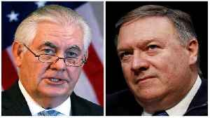 News video: Trump ousts Tillerson as secretary of state, CIA director Pompeo to take post