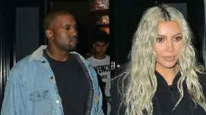 News video: Kim Kardashian Stops By Wyoming To Support Kanye West