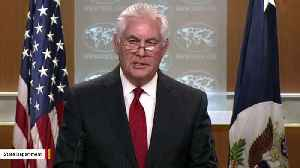 News video: Rex Tillerson Mentions Russia In His Remarks After Firing