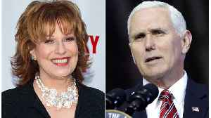 News video: Joy Behar Offers Apology To Mike Pence