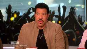 News video: The Talk - Lionel Richie On 'Wild' Time Writing 'We Are The World' at Michael Jackson's House