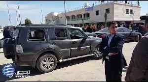 News video: Blast Damages Convoy of Palestinian Prime Minister