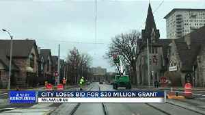 News video: Milwaukee fails to win federal grant for streetcar extension to new Bucks arena