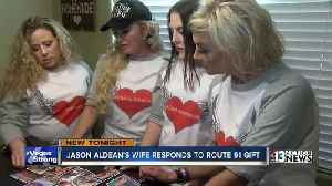 News video: Jason Aldean's wife responds to Route 91 gift