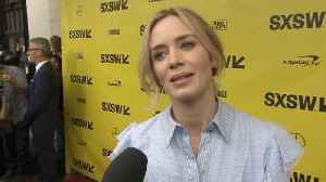 News video: Emily Blunt At SXSW Premiere For 'A Quiet Place'