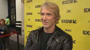 News video: Michael Bay Experiences 'A Quiet Place' At SXSW