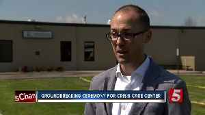 News video: Groundbreaking Ceremony Held For Crisis Treatment Center