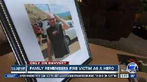 News video: Family of construction site fire worker who died in blaze says he 'went out a hero'