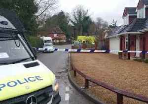 News video: Police and Military Swarm Winterslow, Wiltshire Village as Part of Russian Spy Poisoning Investigation