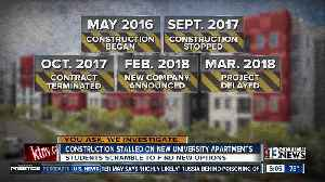 News video: Timeline for troubled UNLV housing project
