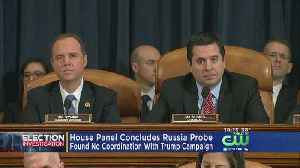 News video: House Republicans Say No Evidence Of Collusion As They End Russia Probe