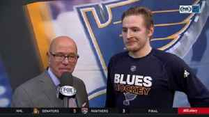 News video: Barbashev after Blues beat Ducks: 'Now we feel really good about our game'