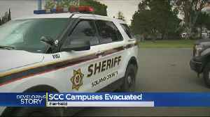 News video: Solano Community Colleges Evacuated Over Bomb Threat