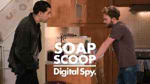 News video: Soap Scoop! Coronation Street -  David considers leaving the country (Week 12)