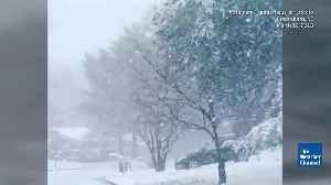 News video: Winter Storm Skylar is Third Nor'easter in 11 Days for Northeast