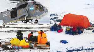 News video: Team of Scientists Rescued From Antarctic Island
