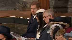 News video: Prince Harry Leaves Meghan Markle In Hysterics After Liam Payne Performance