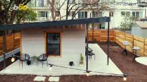 News video: This Shockingly Affordable 3D-Printed House Took Less Than a Day to Build
