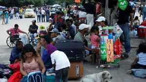 News video: Venezuelans 'starving' on Colombian border