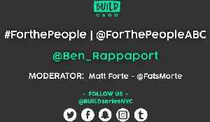 News video: Ben Rappaport LIVE on BUILD Series