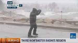 News video: Winter Storm Skylar Has Bombed Out