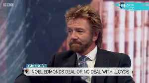 News video: Noel Edmonds Says He Doesn't Regret Asking Cancer Survivor If 'Negative Thoughts' Caused Their Disease