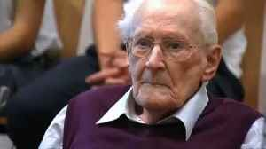 News video: The Bookkeeper of Auschwitz, Oskar Groening, dies