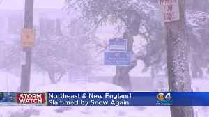 News video: Another Nor'easter Pummels New England